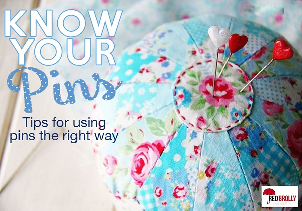 Tutorial: Choosing the right pins for your sewing project