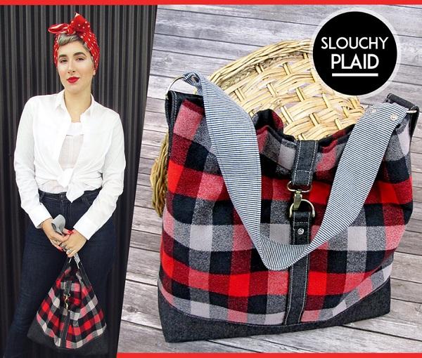 Tutorial: Slouchy shoulder bag