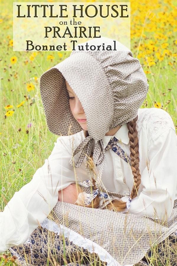 Tutorial Little House On The Prairie Bonnet Sewing