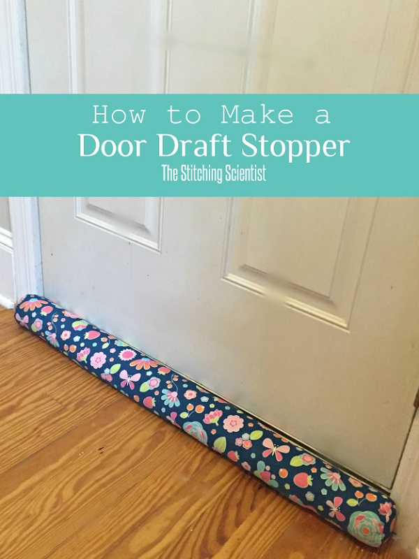 Tutorial: DIY door draft stopper