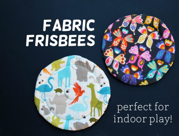 Tutorial: Soft fabric frisbee for indoor play