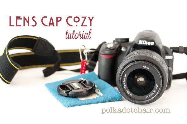 Tutorial: Camera lens cap cozy