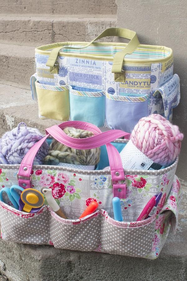 Free pattern: Oslo Craft Bag – Sewing