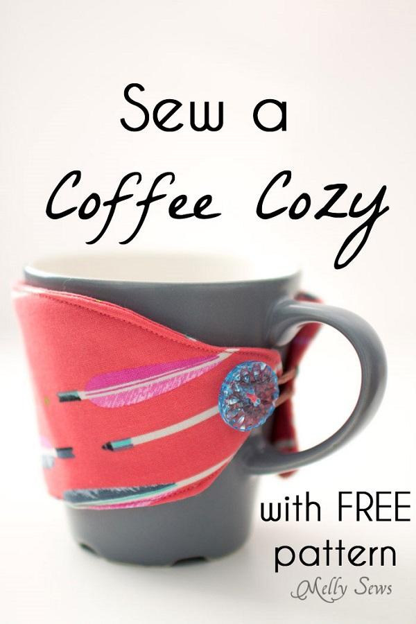 Free pattern: Coffee mug cozy