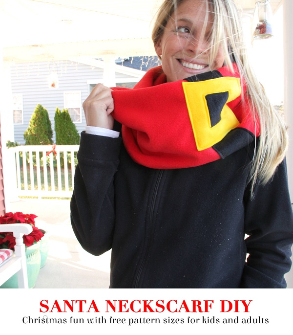 Tutorial: 15 minute Santa scarf