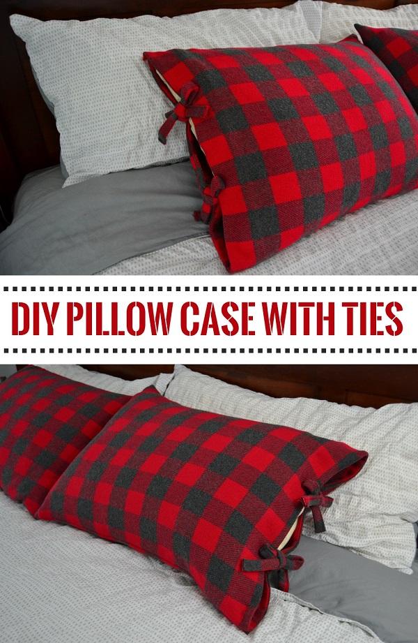 Tutorial: Side tie pillow case