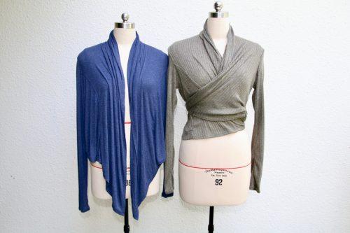 Free pattern: Wrap cardigan you can wear many ways