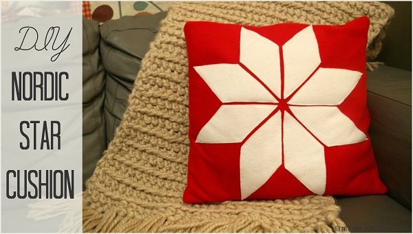 Tutorial: Nordic star Christmas pillow
