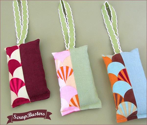 Tutorial: Hanging sachets