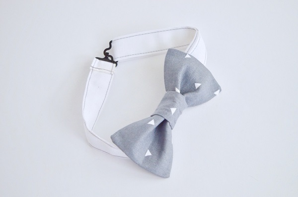Tutorial: Bow tie with adjustable strap