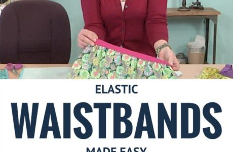 Tutorial: 2 ways to sew an elastic waistband