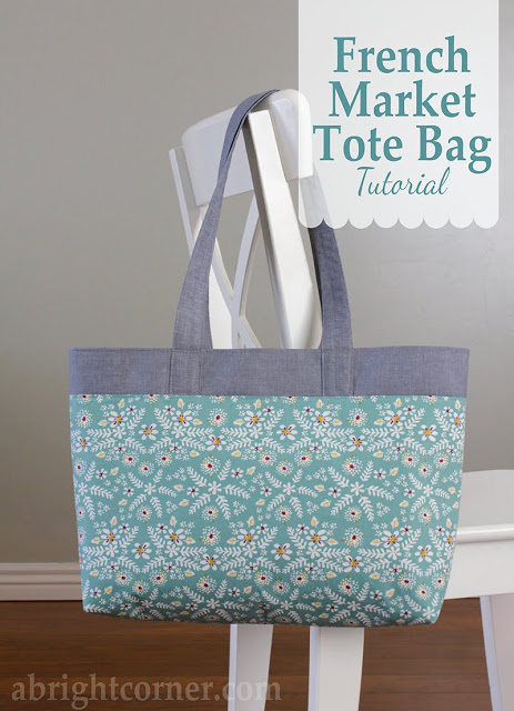 Tutorial: French Market Tote