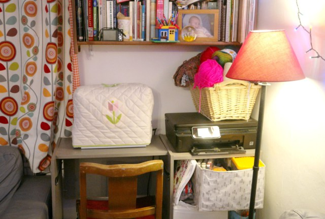 Create a sewing space in your small house