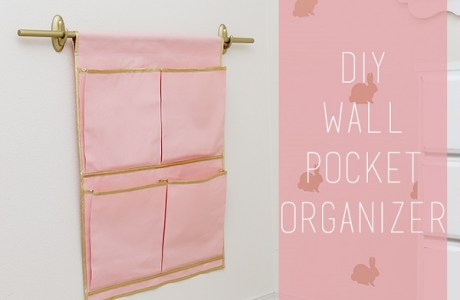 Tutorial: Hanging pocket organizer