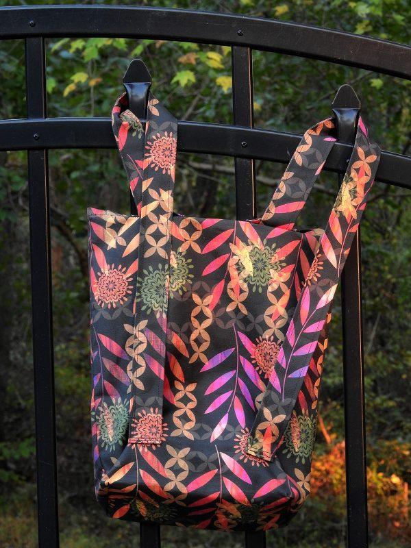 Tutorial: Simple convertible backpack tote bag
