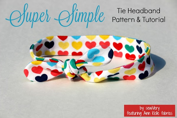 Tutorial: Easy knotted headband