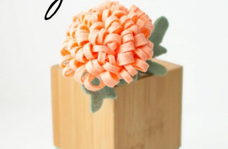 Tutorial: Felt chrysanthemum