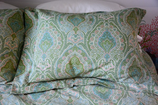Tutorial: Easy flanged pillow sham
