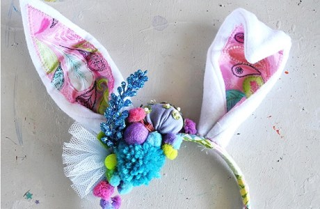 Tutorial: DIY fantastical bunny ears