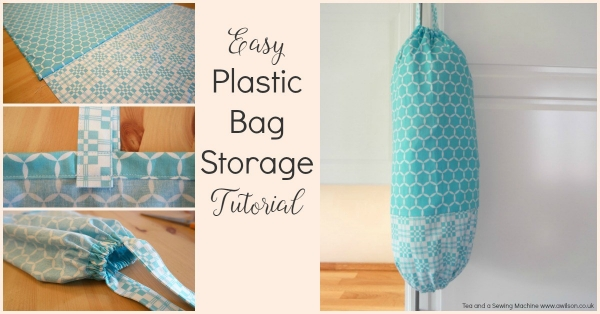 Tutorial: Plastic bag organizer
