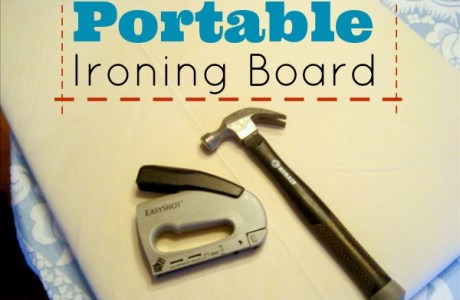 Tutorial: Make a portable ironing board
