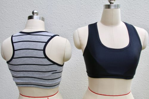 Tutorial and pattern: Sew your own sports bra