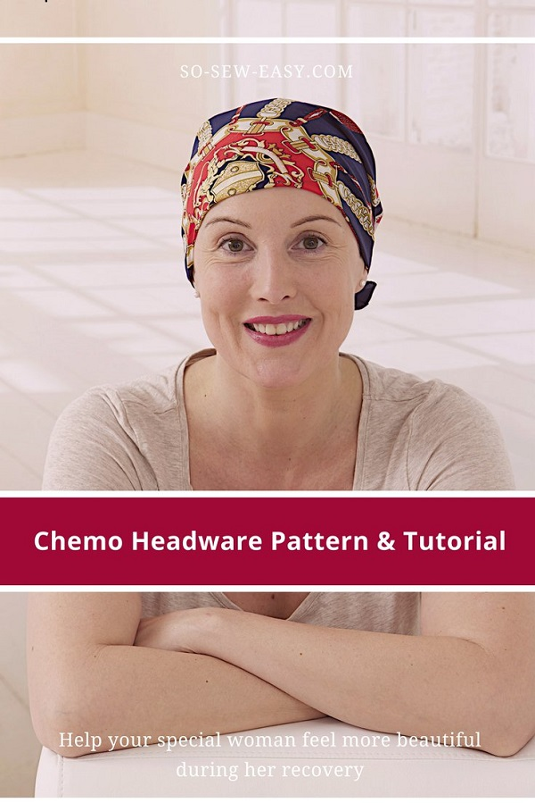 Tutorial And Pattern Chemo Cap Sewing Enchanting Chemo Cap Sewing Pattern