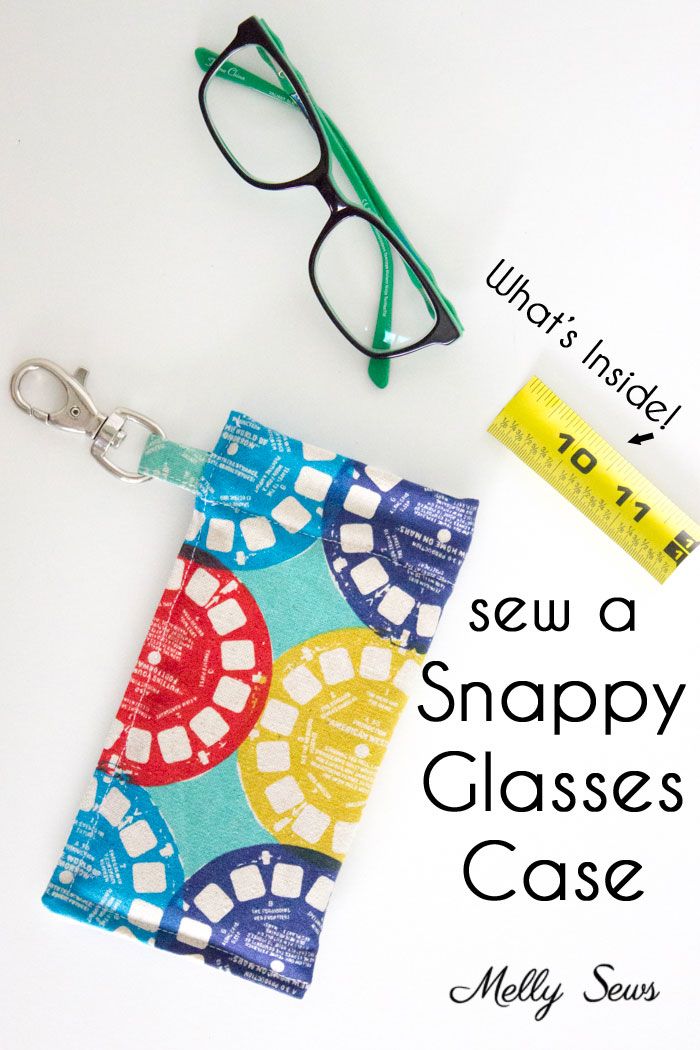 Tutorial: Snappy glasses case