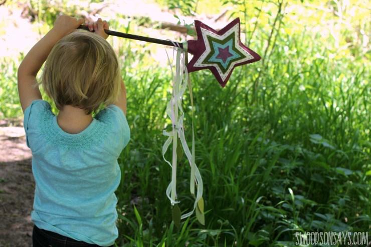 Tutorial: Felt fairy wand