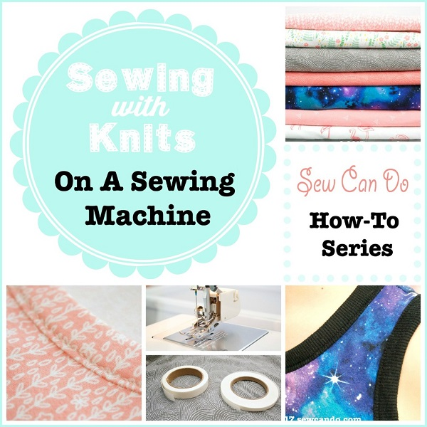 Tutorial Sewing knits without a serger