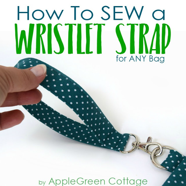 Tutorial: Sew a removable wristlet strap for a bag or pouch