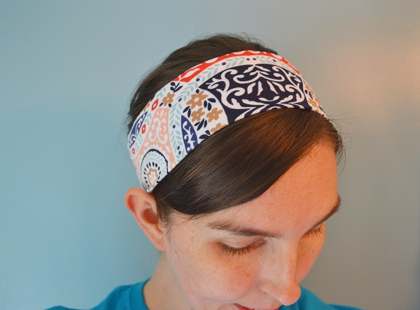 Tutorial: Basic knit fabric headband