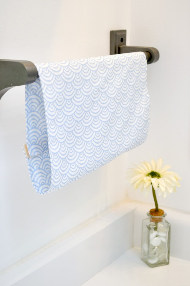 Tutorial Sew a stay put hand towel
