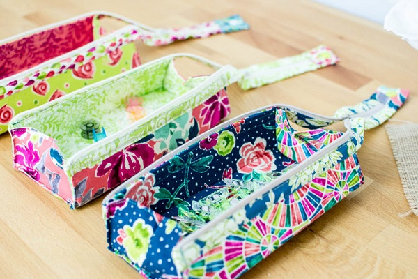 Tutorial and pattern: Zola zipper pen case – Sewing
