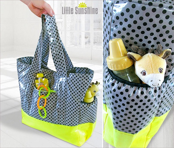 Tutorial: Laminated diaper tote