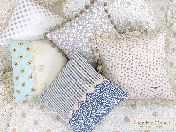 Tutorial: Mix n match throw pillows in 5 variations