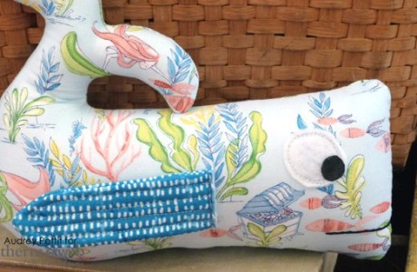 Tutorial and pattern: Whale softie