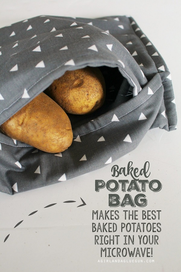 Tutorial Microwave Potato Bag Sewing