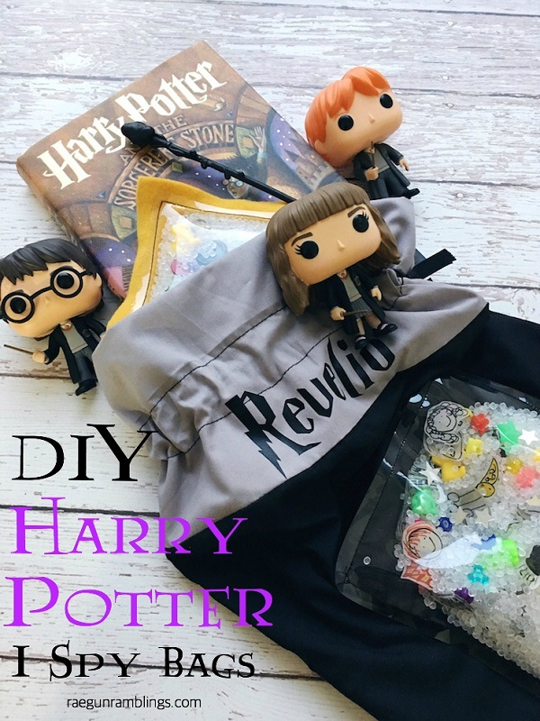 Tutorial: Harry Potter I Spy bags