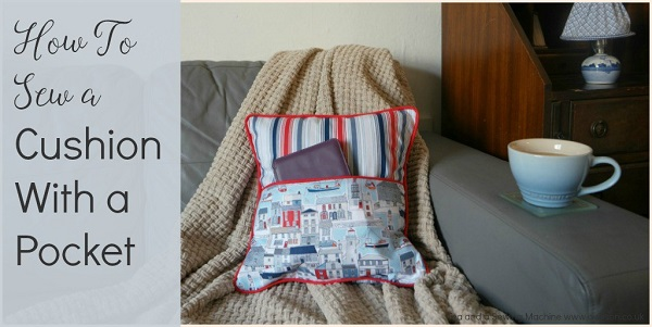 Tutorial: Pocket front pillow