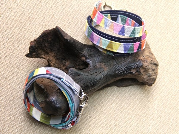 Tutorial Scrap fabric wrap bracelets