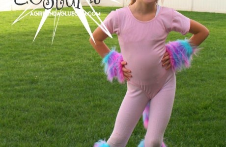 Tutorial: Easy unicorn costume you can make