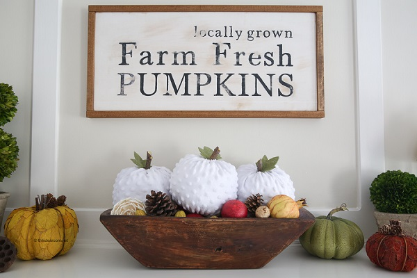 Tutorial: Easy fabric pumpkins