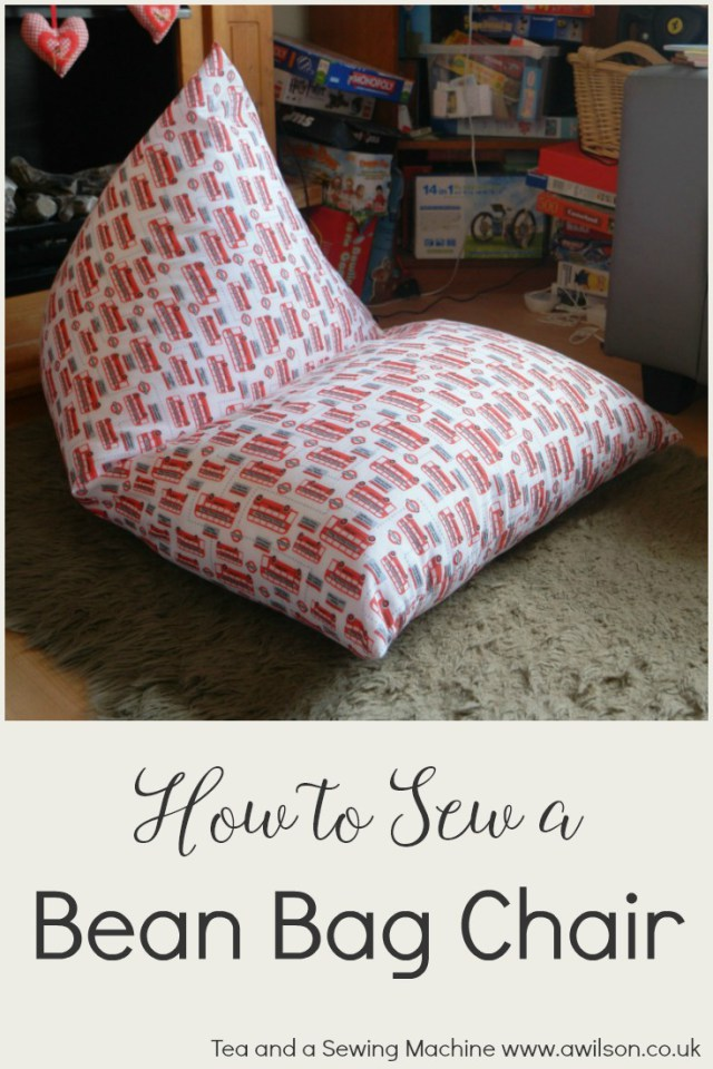 Tutorial: Easy bean bag chair