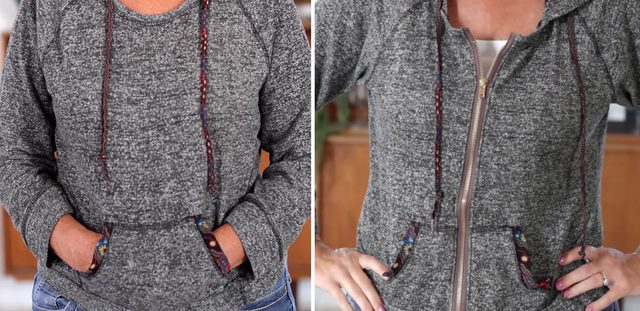 Video tutorial: Add a zipper to a sweatshirt