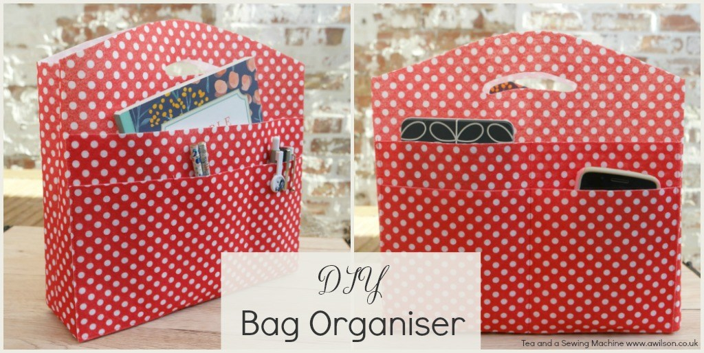 Tutorial: Bag organizer with plenty of pockets