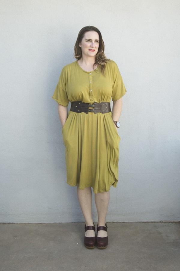 Tutorial and pattern: Mara lounge dress