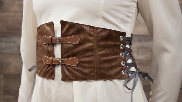 Video tutorial: Waist cincher belt for costumes