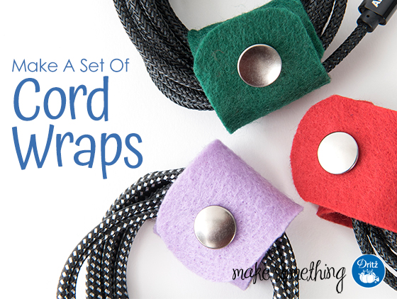 Tutorial: Easy no-sew cord wraps