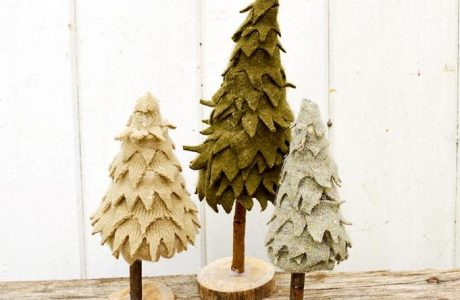 Tutorial: Felted sweater Christmas tree